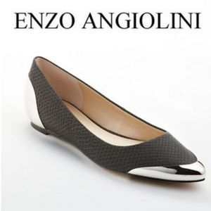 Enzo Angiolini Danville Metal Tip Pointed flats